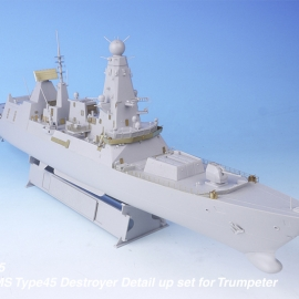 1/350 HMS Type45 Destroyer Detail up set for Trumpeter