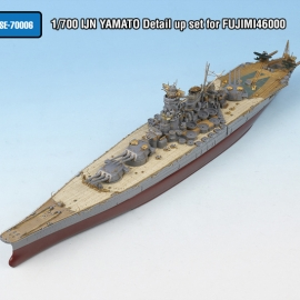 1/700 IJN YAMATO Detail up set for FUJIMI46000