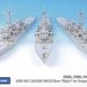 1/350 USN ARLEIGH BURKE Class 'Flight I' detail up set (for Trumpeter 04523, 04524, 04525)