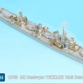 1/700 IJN Destroyer YUKIKAZE 1945 detail up set (for Pit-road)