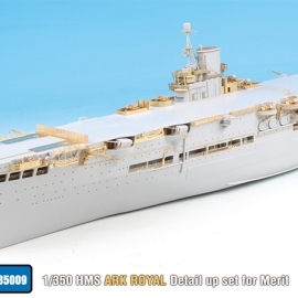 1/350 HMS Ark Royal Detail up set for Merit
