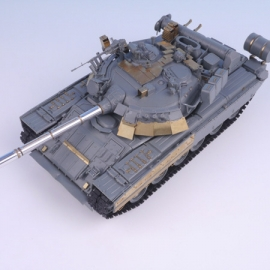 1/35 Soviets MBT T-80U (w/ Barrel) for Xact Scale Model