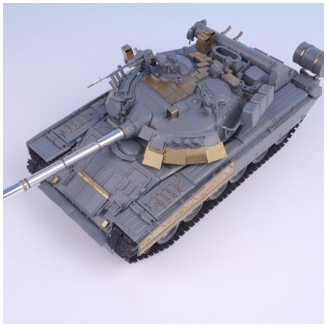 1/35 Soviets MBT T-80U (w/ Barrel) for Xact Scale Model