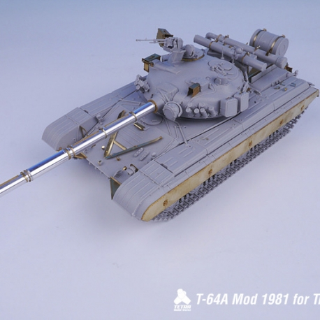 1/35 Soviets MBT T-64A Mod1981(w/Barrel) for Trumpeter