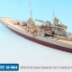 1/700 HMS Queen Elizabeth 1941 Detail-up Set w/ Wooden Deck & Gun Barrel