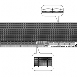 1/350 JMSDF Rail & Safety Net