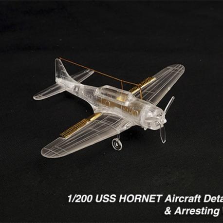 USS HORNET Aircraft Detail up set & Arresting Wires