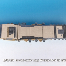 1/350 IJN Aircraft carrier Kaga Wooden Deck for fujimi