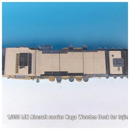 1/350 IJN Aircraft carrier Kaga Wooden Deck for fujimi
