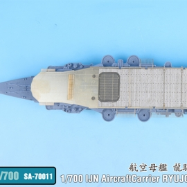 1/700 IJN AircraftCarrier Ryujo After 2nd Upgrade Wooden Deck Set (for Aoshima)