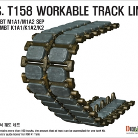 T158 Workable Track set (for 1/35 M1 Abrams)