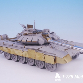 1/35 Russian MBT T-72B(without Barrel) for Trumpeter
