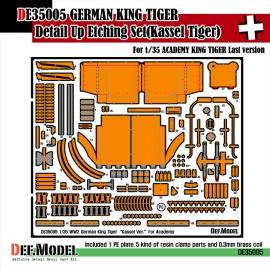 King tiger Kassel ver. PE Set (for Academy 1/35)