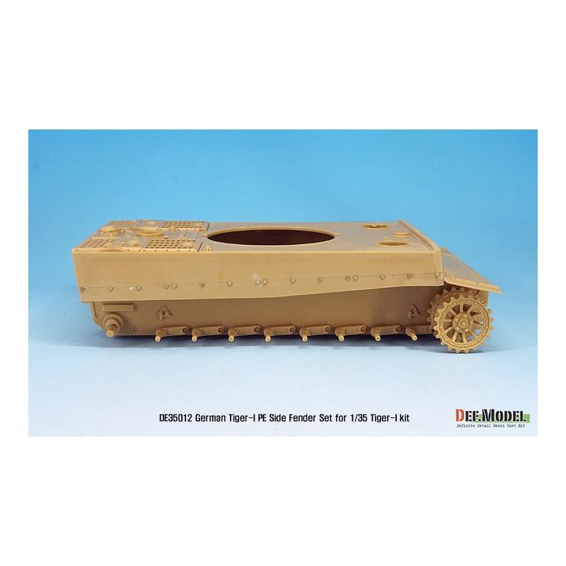 DEF.MODEL for 1//35 Tiger-I , 1:35 DE35012 German Tiger-I Tank Side fender set