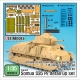 French Somua S35 PE basic detail up set (for Tamiya 1/35)