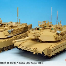 US M1A2 SEP Basic PE Detail up set (for Academy 1/35)