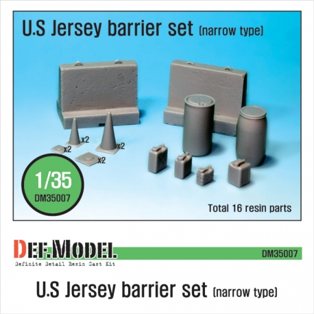 US Jersey Barrier set (Small type)