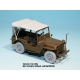 Canvas Top for Willys MB 4x4 Truck (for Tamiya 1/35)