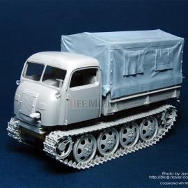 RSO Tractor Canvas Cover (for Dragon 1/35)