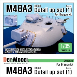 M48A3 Basic detail up set (for Dragon 1/35)