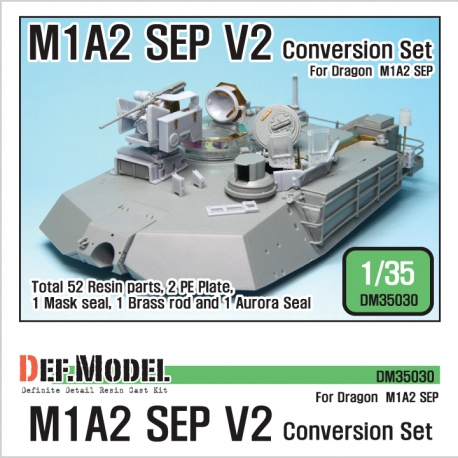 M1A2 SEP V2 Conversion set (for Dragon 1/35)