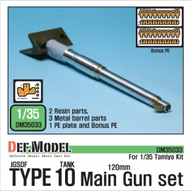 JGSDF Type 10 Main Gun Barrel set (for Tamiya 1/35)