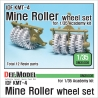 IDF KMT-4 Mine Roller wheel set (for Academy 1/35)