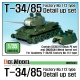 T-34/85 Factory No.112 Detail up set (for Academy 1/35)
