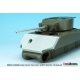 US M4A3E2 Jumbo Concrete front armour /w M1A1C barrel (for 1/35 Asuka kit)