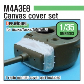US M4 Sherman 76(w) turret canvas cover set (for Asuka 1/35)