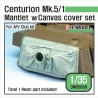Centurion Mk.5/1 Mantlet w/canvas cover set (for AFV Club 1/35)