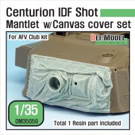 Centurion IDF shot Mantlet w/canvas cover set (for AFV Club 1/35)