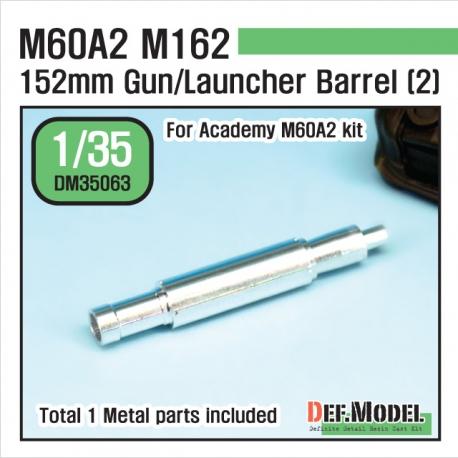 US M60A2 M162 Metal Gun Barrel 2 (for Academy 1/35)