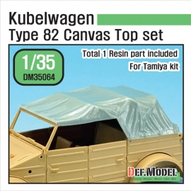 Kubellwagen Type 82 Canvas top (for Tamiya 1/35)