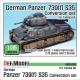 German Panzer 739(f) S35 Conversion set (for Tamiya 1/35)