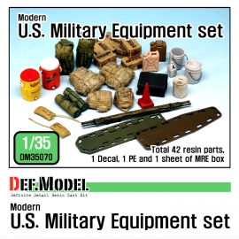 Modern US Army Stowage set