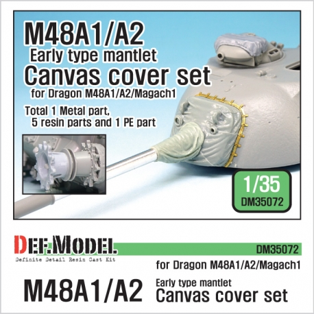 IDF Magach 1(M48A1) Canvas cover set (for Dragon 1/35)