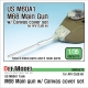 US M60A1 M68 Main gun /canvas cover set(for AFV club 1/35 kit)