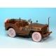 Willys MB 4x4 Truck Wheel set (for Tamiya 1/35)