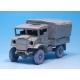 WW2 15 CWT Truck wheel set (for Italeri 1/35)
