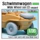 WW2 German Schwimmwagen Wide Wheel set 2 - DEKA (for Tamiya 1/35)