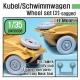 WW2 German Wagen Wheel set 2(dw30003) (for Tamiya, AFV Club 1/35)