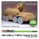 CZ DANA ShKH Vz.77 MP914 Sagged Tire set (for Hobbyboss 1/35)