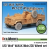 LRD XD Wolf 'W.M.I.K' Mich.235 Sagged Wheel set (for Hobbyboss 1/35)