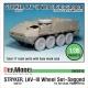 Stryker/LAV-III Mich. XML Sagged Wheel set (for AFV Club/Trumpeter 1/35)