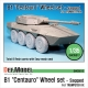 B1 Centauro RCV Sagged Wheel set (for Trumpeter 1/35)