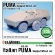 Italian PUMA 6X6 AFV Sagged Wheel set (for Trumpeter 1/35)