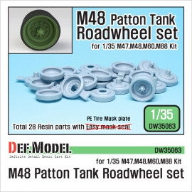 US M48 MBT Series Road wheel set (for Dragon 1/35)