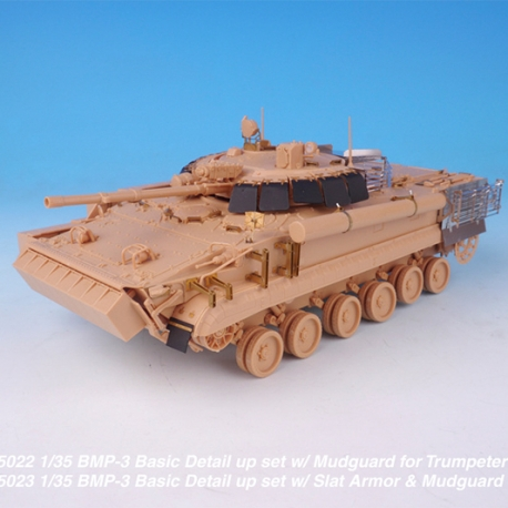1/35 BMP-3 Basic Detail up set w/ Mudguard for Trumpeter