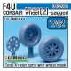 F4U-1 Corsair Wheel set 2 (for Tamiya 1/32)